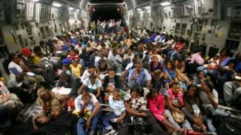 Deported Hatians