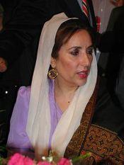 Benazir Bhutto -Pakistan